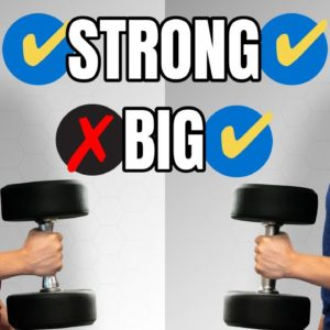 How To Get Stronger AND Bigger Muscles (4 Things To Avoid)