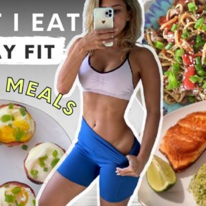 What I eat in a day // 15 min meals - QUICK & EASY