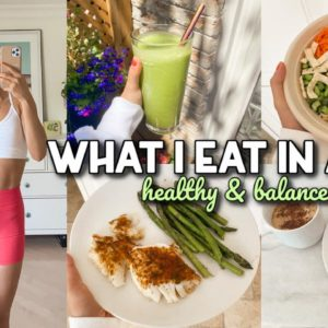 WHAT I EAT IN A DAY | Healthy & Balanced Diet