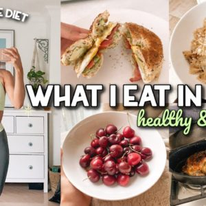 WHAT I EAT IN A DAY | Healthy & Balanced | Non-Restrictive
