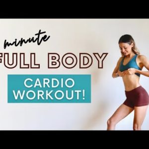 5 MIN FULL BODY CARDIO WORKOUT | No Equipment/No Excuses!