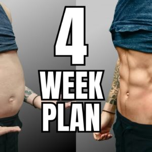 How To Lose Belly Fat (4 Week Plan)