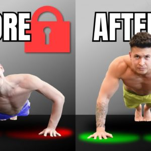 How To Unlock The Perfect Push Up For More Gains (In 5 Minutes)