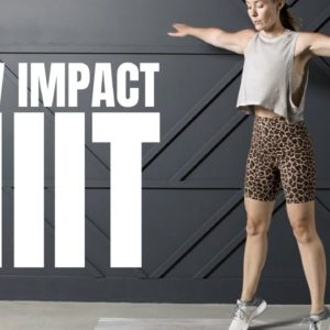 Low Impact HIIT Workout (No Equipment)
