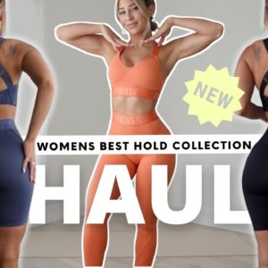 NEW ACTIVEWEAR!! TRY ON HAUL Women's Best HOLD collection