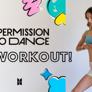 'PERMISSION TO DANCE' BTS AB WORKOUT | Have fun while toning your abs!