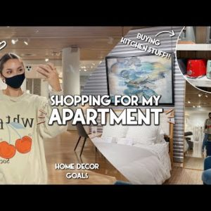 VLOG | COME APARTMENT SHOPPING WITH ME | small appliances, decor Inspo.