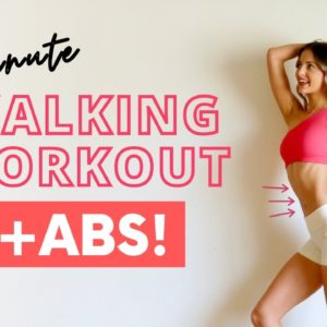 WEIGHT LOSS WALKING WORKOUT | Toned/Tight Abs!