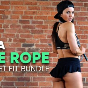 20 Minute Jump Rope Workout + FREE ROPE Offer
