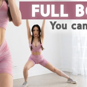 25 Min Full Body Workout | You CAN do it and it's fun! | 2 Weeks Shred