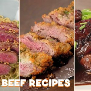 3 Easy and Fast Beef Recipes By Erwan Heussaff