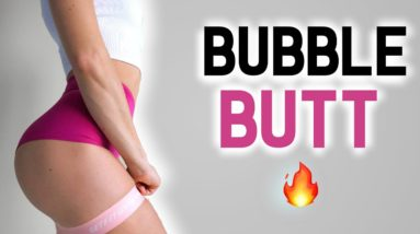 5 Exercises to Grow a BUBBLE BUTT From Home 🔥