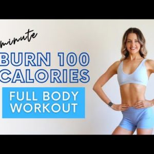 BURN 100 CALORIES IN 10 MINUTES! Quick/Intense Full Body Workout
