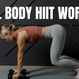 HIIT with Weights Workout // Total Body Burn 🔥