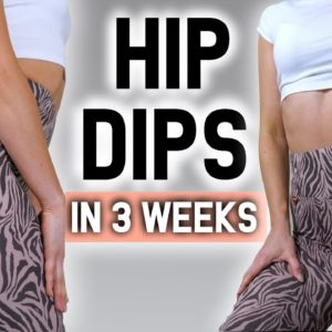 REDUCE HIP DIPS IN 3 WEEKS 🔥 BOOTY TRANSFORMATION CHALLENGE