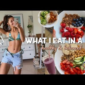 WHAT I EAT IN A DAY 2021 | Healthy & Balanced | Easy Recipes