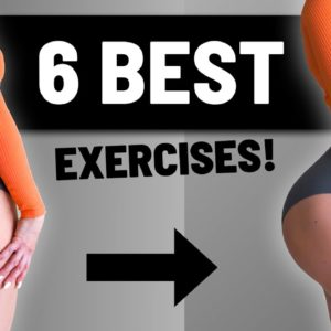 6 Best Booty Growth Exercises (HIGH VOLUME GLUTE TRAINING)