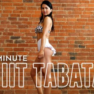 8-Minute Fat-Burning Micro Workout | Tabata for Beginners