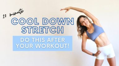 RELAXING COOL DOWN STRETCH ROUTINE | Do this after your workout!
