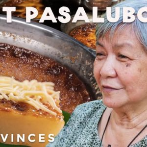 The Best Cassava Cake in the Philippines ( Budin from Quezon)