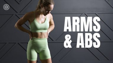 Arms & Abs Workout // Low Impact Strength & Toning
